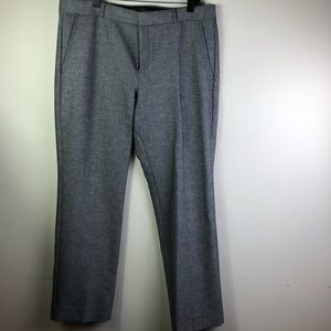 BANANA REPUBLIC NWT Grey slacks Ryan Design  SZ:14